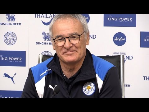 Claudio Ranieri Full Pre-Match Press Conference - Burnley v Leicester
