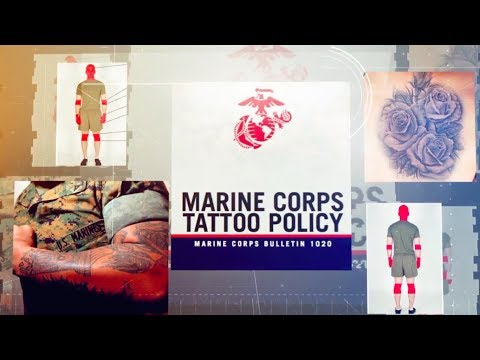 Updated Marine Corps Tattoo Policy...Summarized