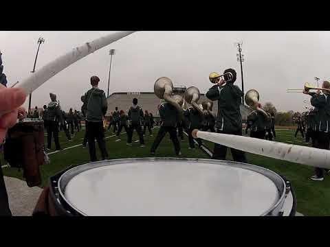 Dublin Coffman Marching Band 2017 High Strung Snare Cam Stadium