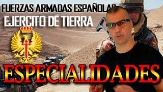 FAS ESPAÑOLAS | ESPECIALIDADES EJERCITO TIERRA de TROPA/MARINERIA by XII_Doce