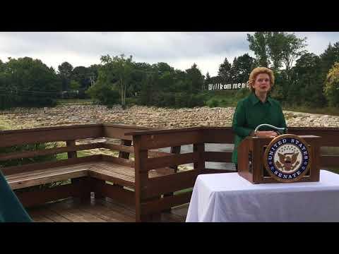 U.S. Senator Debbie Stabenow on the importance of the Great Lakes Restoration Initiative
