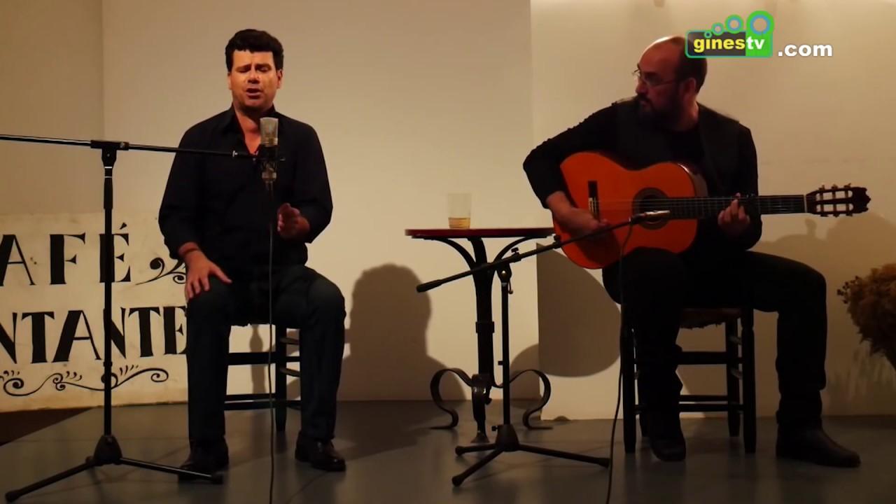 Juan Meneses presenta el domingo en Gines su espectáculo 'De anhelos, quebrantos y otros cantes'