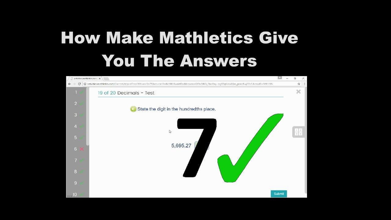 mathletics homework cheats