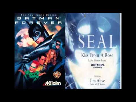 Seal Kiss From A Rose Batman Forever Soundtrack Youtube