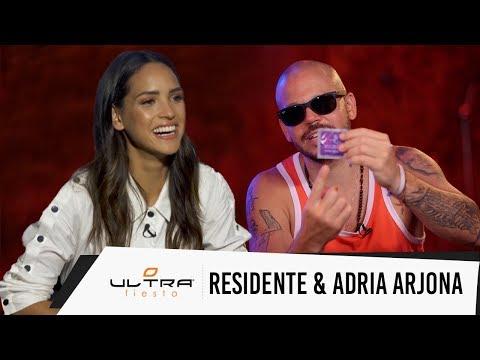 Residente habla de su nueva cancion sexo y Adria Arjona nos habla de Life Of The Party