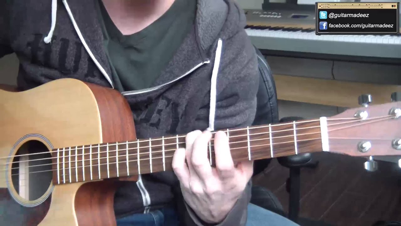Avicii hey brother guitar tutorial entire song all parts on oneguitar made sooo easy