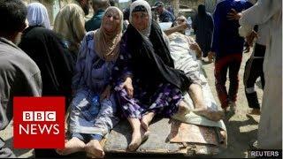 Mosul battle  'Dozens of civilians killed' fleeing IS held district   BBC News