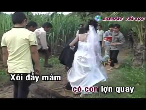 Karaoke] Nhạc sống Đám cưới trên đường quê HD (melody beat)  YouTube