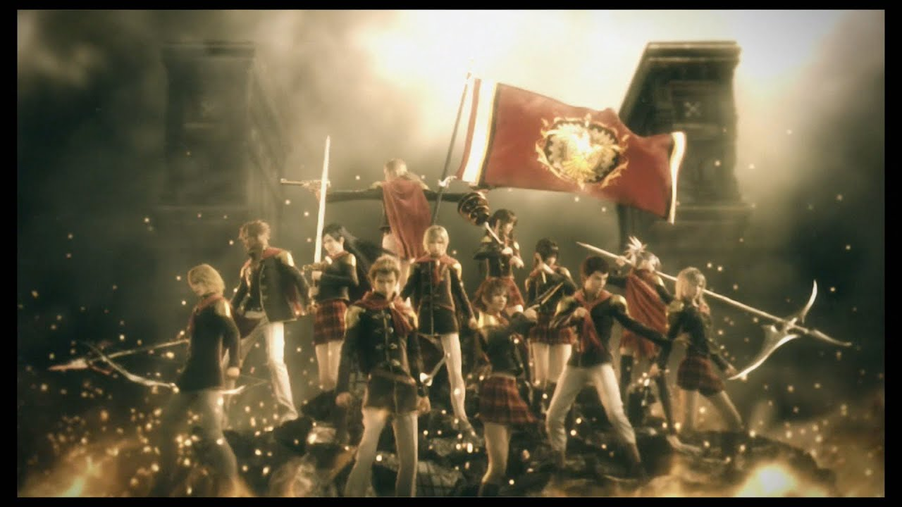 Final Fantasy Type 0 HD 00 Intro YouTube