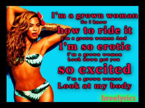Beyonce- GROWM WOMAN(FULL SONG WITH LYRICS(HD)