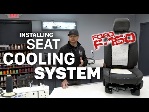 How To Install Heating and Cooling Seat Ventilation In Ford F-Series Trucks SANCTUM LeatherSeats.com