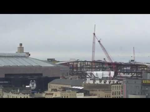 Bradley Center and new Bucks arena