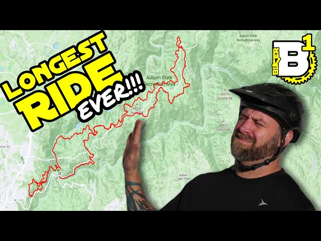 I attempt to ride 30 miles and 4300' for the FIRST TIME - 80lb. Vlog Ep. 4