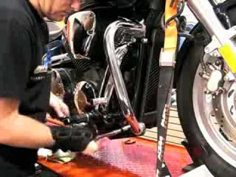 National Cycle Paladin Highway Bar Install Video Cruiser