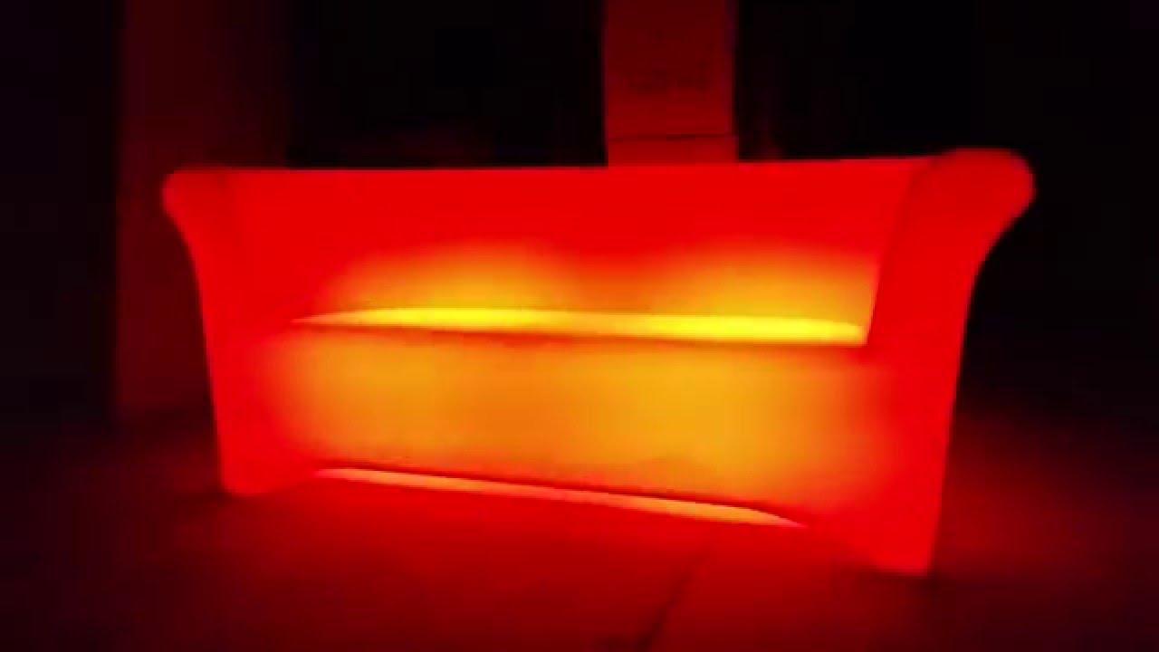 Led Light Up Sofa For Glow Purchase Illuminating Furniture You