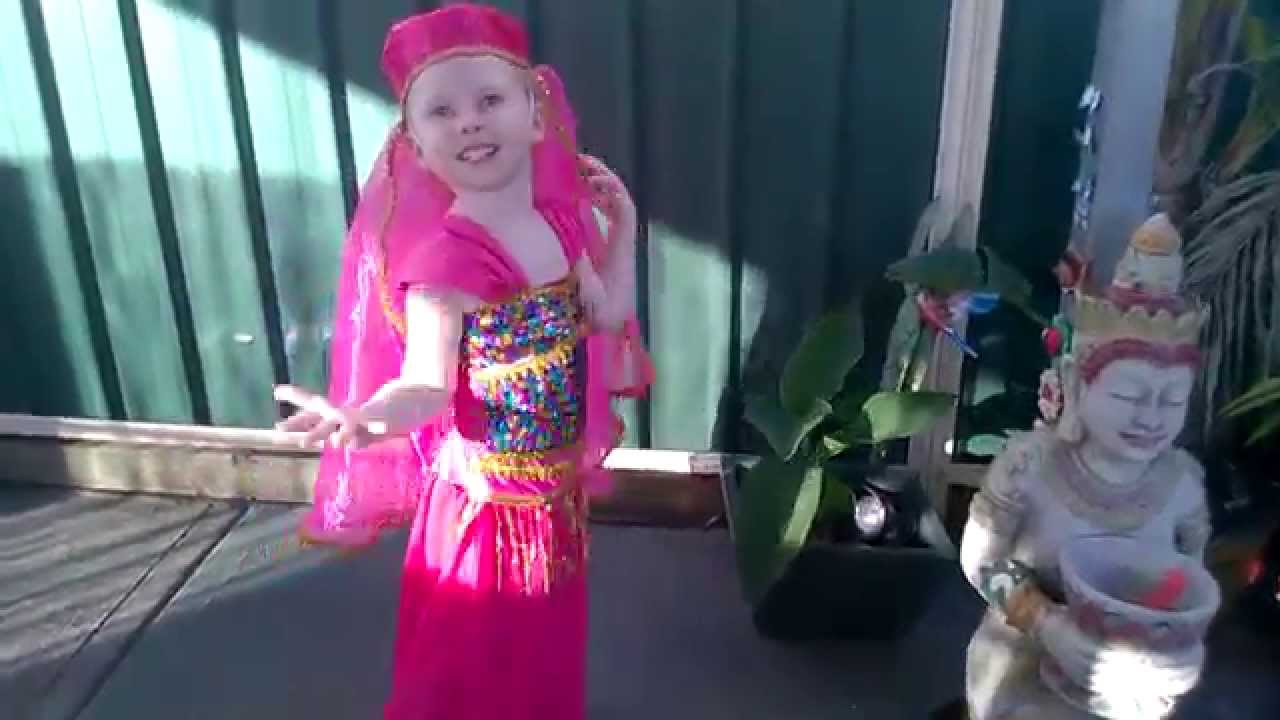 Baby Belly-Dance Own song in Genie costume. Age 4.  sc 1 st  YouTube & Baby Belly-Dance Own song in Genie costume. Age 4. - YouTube