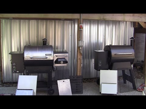 Camp Chef vs Traeger pellet grill review July 2017 HD