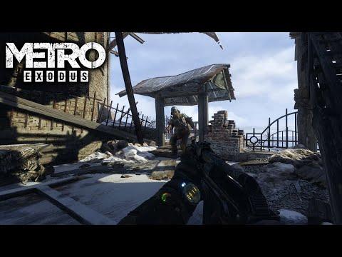 Metro  Exodus Extreme Train Bomb Plant game play Action PC games |