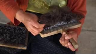 Le filage de la laine à Chamula - Uekani