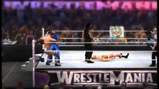 Fatal 4 Way Elimination Match, Roman Reigns vs The Miz vs Antonio Cesaro vs Rey Mysterio