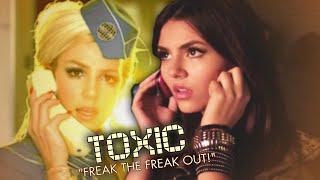 Toxic x Freak The Freak Out - Britney Spears x Victoria Justice (Mashup) | JustinBeats