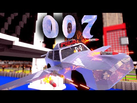 Minecraft 007 Secret Agent Mod Showcase! (007 MOD, JAMES BOND MOD, SECRET AGENTS MOD)