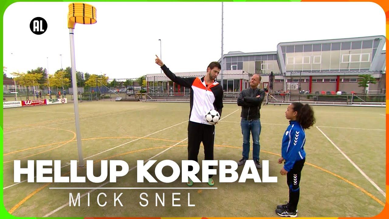 Tips voor de perfecte doorloopbal   Hellup Korfbal met Mick Snel   Zappsport