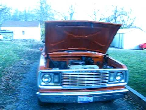 My 1978 Dodge D-100 318