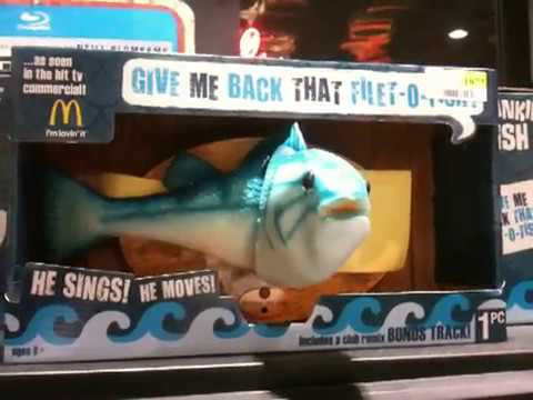 Give me back that filet o fish wall fish youtube for Give me that filet o fish