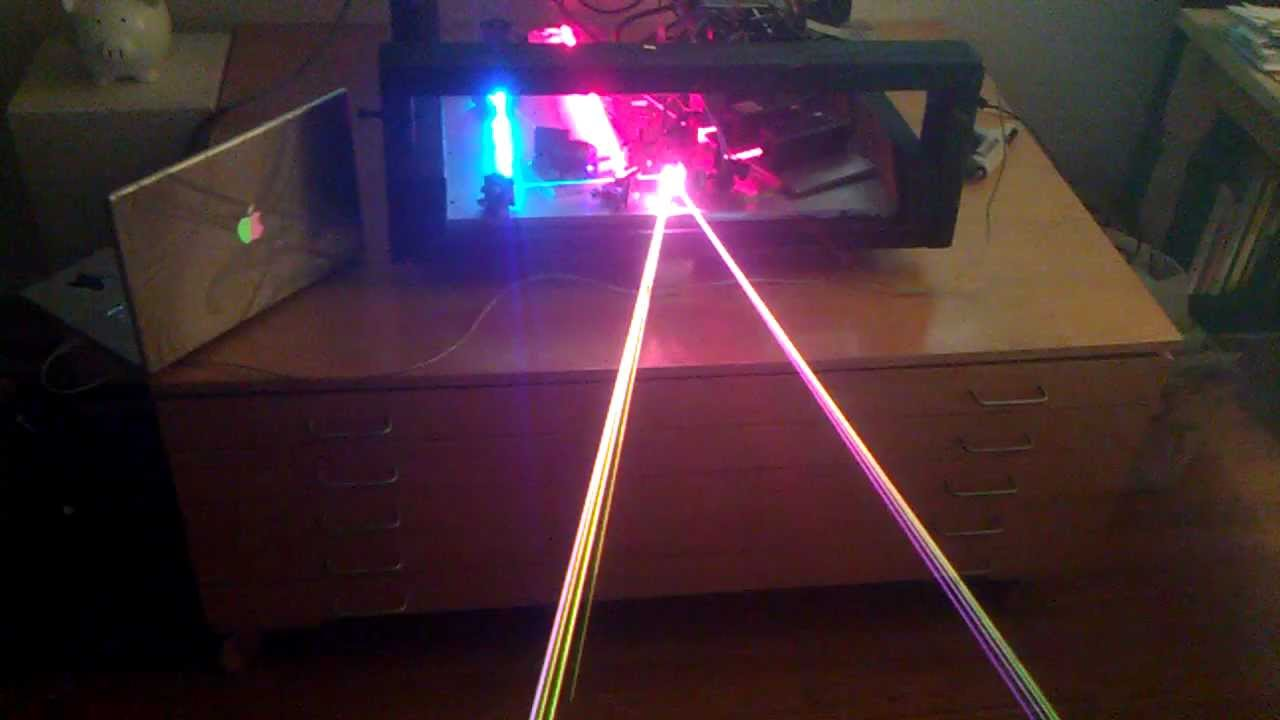 Homemade Rgb Laser Projector Homemade Ftempo