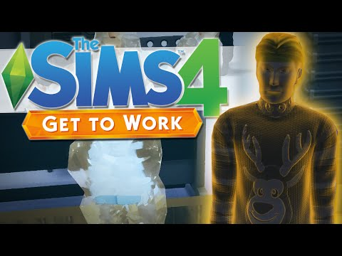 The Sims 4 | FREEZE RAYS & GHOSTS!! | Get To Work #4