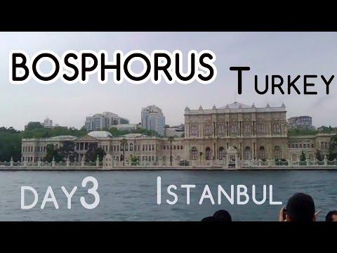 Bosphorus boat trip. Visiting Istanbul