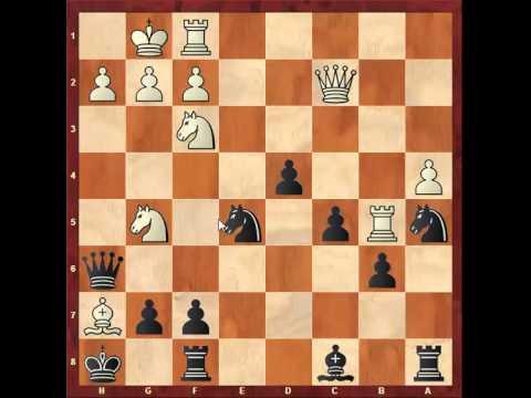 Chess: Alexander Goldin 2555 - Susan Polgar 2560, Queen's Gambit Accepted http://sunday.b1u.org