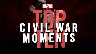 Marvel Top 10 Civil War Moments