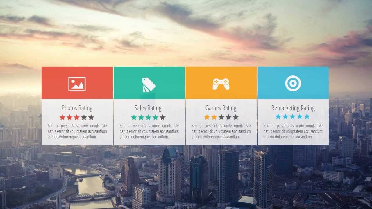ux design presentation template - bright style - youtube, Presentation templates