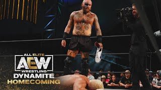 Malakai Black Does Exactly What He Said He Would Do | AEW Dynamite:  Homecoming, 8/4/21