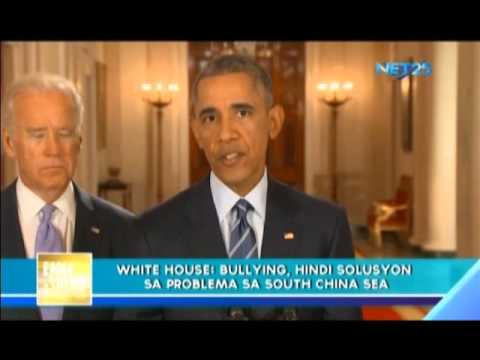 Bullying not the solution in South China Sea - White House
