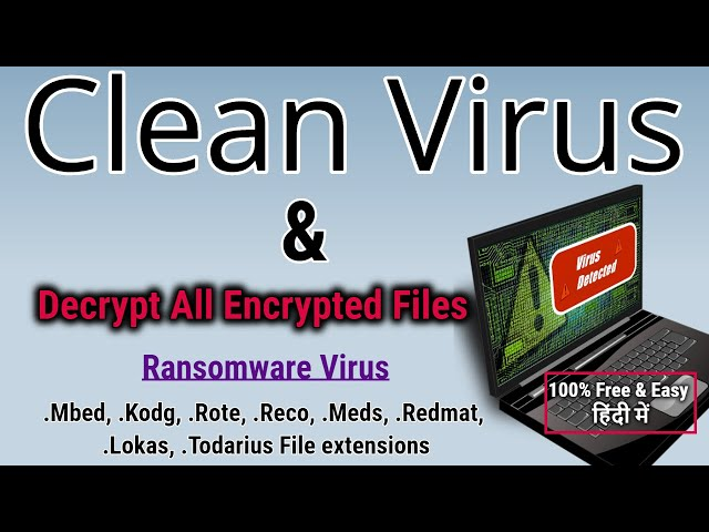 MBED VIRUS ( mbed FILES) – HOW TO FIX & DECRYPT DATA