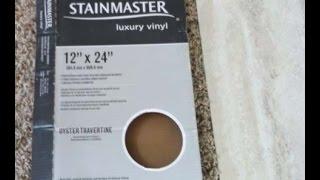 diy stainmaster luxury vinyl tile 12 x 24