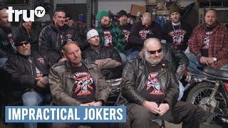 Impractical Jokers - Biker Gang Wedgie (Punishment) | truTV thumbnail