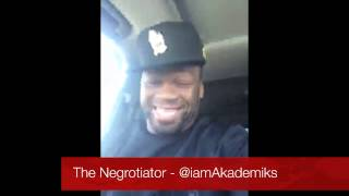 50 Cent Tells French Montana to Keep his Name out of his Mouth. He's Talking to Puff not him!