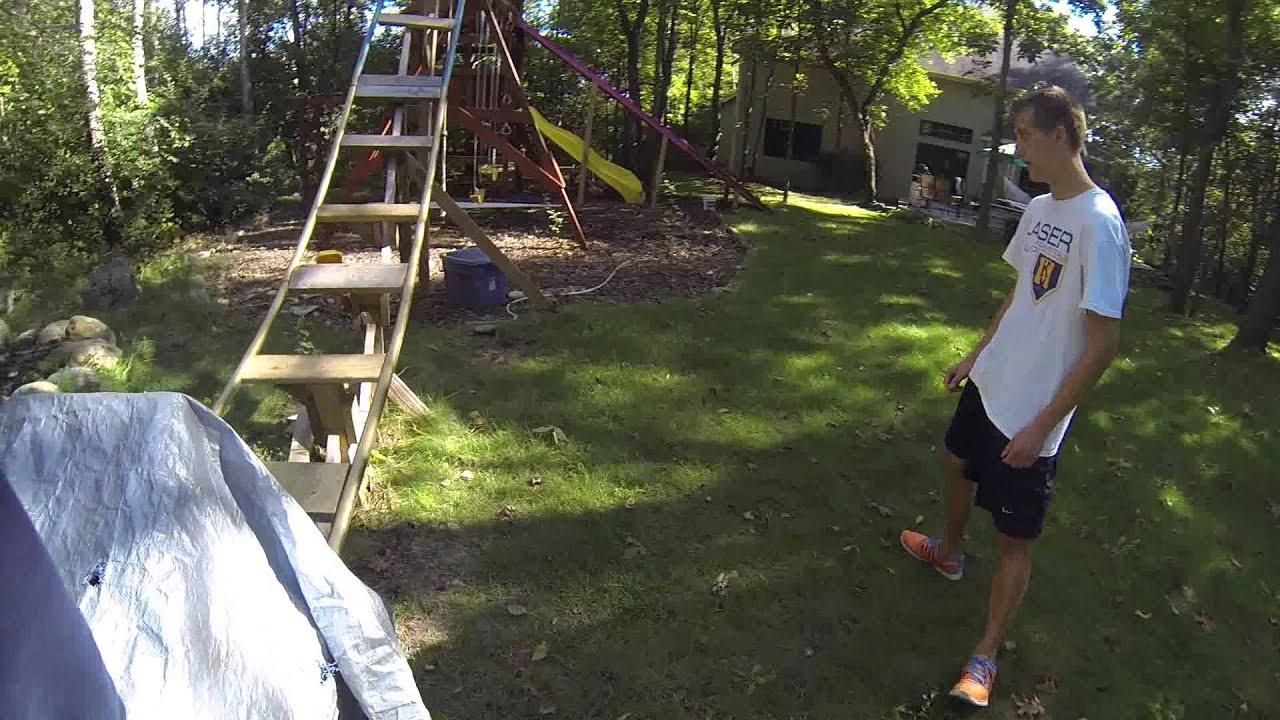 backyard roller coaster update 8 youtube