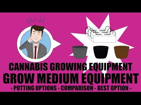 Weed Grow Operation Set Up - Grow Equipment