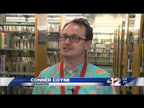 WJRT coverage of the Flint Literary Festival July 22, 2017