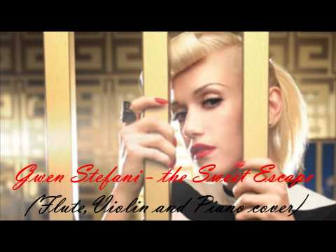 Gwen Stefani ft. Akon - The Sweet Escape (Flute,and Piano Cover)