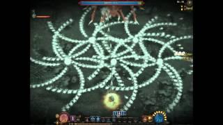 Mirror War Online ミラーウォー 厄災の蜘蛛鉱山ソロクリア (Lv.30)