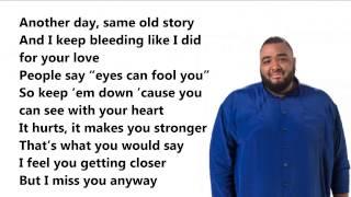 No goodbye  - Sergio - lyrics