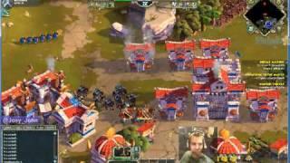 Age Of Empires Online Walkthrough - Pt.200 Greek - Defeat Marion (ii)