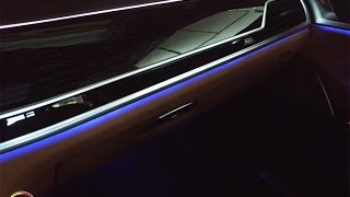 2017 BMW 7 Series Ambiance Lighting System