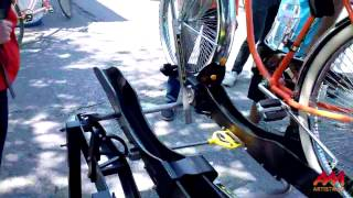 Using a CTA Bus Bike Rack to Carry Your Bike